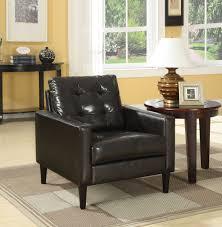 Balin Accent Chair in Espresso <b>PU</b> Acme Furniture 59046