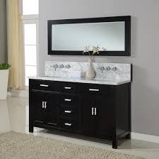 rhodes pursuit mm bathroom vanity unit: bathroom  j j international  inch hutton double bathroom vanity sink console in ebony w carrera white marble top