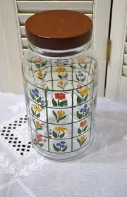 hocking distressed kitchen canister vintage anchor hocking glass jar nina greenhouse by panchosporch