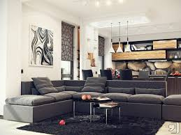creative living room ideas design:  creative living room ideas pin save email gray dark sofa set with stainless idea tables combined