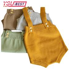 0 24M <b>Baby</b> Knitting <b>Rompers</b> Cute Overalls <b>Newborn Autumn Baby</b> ...