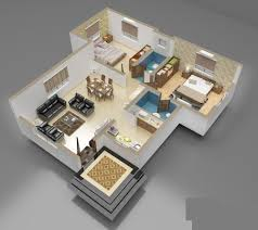 D Front Elevation com  D Interior of House Plan D Interior of House Plan