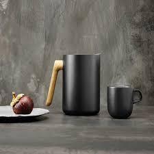 <b>Блюдо сервировочное Nordic</b> Kitchen, 21 см, черное 502793 Eva ...