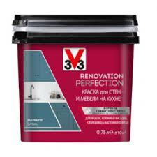 <b>Краска</b> для стен и мебели на кухне <b>Renovation</b> Perfection <b>V33</b>