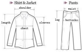 Image result for how to measure a boys suit