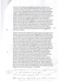 film analysis essay example how to write a movie review sample reviews