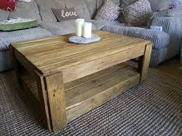 resurrected pallet coffee table antique unique pallet ideas