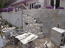 Small Picture cinder block retaining wall height Cinder Block Retaining Wall