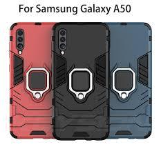 <b>KEYSION Shockproof</b> Armor <b>Case For</b> Samsung Galaxy A50 A70 ...