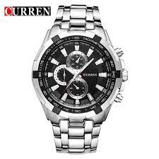 <b>CURREN 8023 Men'S</b> Watch Fashion Business Watch Quartz Watch ...