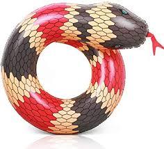 Coogam 40'' 3D Snake Swim Ring Inflatable Pool ... - Amazon.com