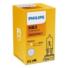 <b>Лампа автомобильная</b> PHILIPS Vision Premium <b>HB3</b>/9005 <b>60W</b> ...