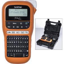 <b>Brother PTE110VP</b> Handheld Label Printer