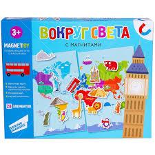 <b>Игра настольная Dream Makers</b> Вокруг света МI1903 в Москве ...