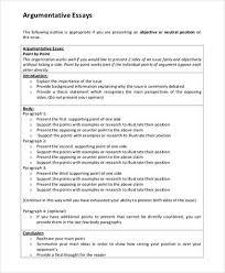 sample college essay    examples in word pdf argumentative essay sample college