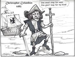 el día la raza what happened to the indigenous race by rodolfo f special thanks to sergio hernández for his caricature of columbus sergio is a great artist and political cartoonist