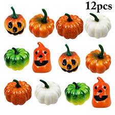 Buy Funpa 12PCS <b>Halloween Pumpkin Decorative</b> Lovely Mini ...