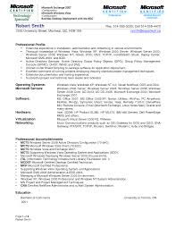 doc linux system administrator resume format wintel administrator resume bzbh