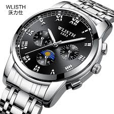 Jam Tangan Pria <b>WLISTH</b> Sport Watches Mens Watches Quartz ...
