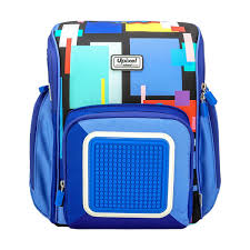 <b>Ранец школьный Pixel WY-U18</b> Funny Square School Bag ...