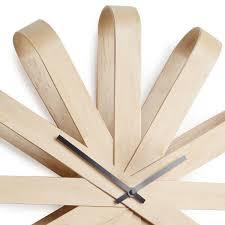 <b>Часы настенные Ribbon</b> из дерева — купить по цене 6900 руб в ...