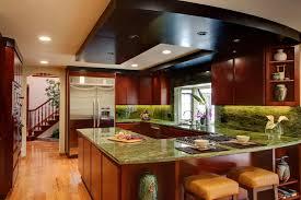 shaped kitchen design efficient