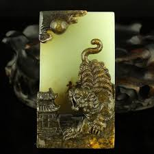 <b>Xinjiang Hetian jade</b> seed fine carving tiger - Dec 14, 2019 | SATOC ...