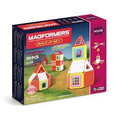 Магнитный <b>конструктор MAGFORMERS Build</b> Up Set | Купить ...