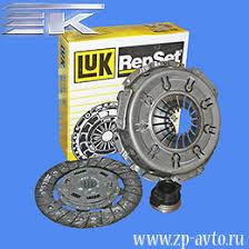 комплект <b>сцепления</b> LUK двигателя ЗМЗ 406 (<b>диск</b>/<b>корзина</b>/<b>муфта</b>)