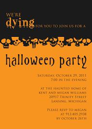 halloween costume party invitation templates com halloween party invitation photo album kizine