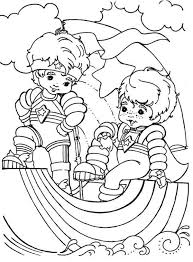Small Picture Red Butler and Buddy Blue in Rainbow Brite Coloring Page Color Luna