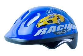 Роликовый <b>шлем MaxCity BABY RACING</b> Синий S: купить за 540 ...