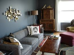 living room ideas grey small interior:  paint ideas for small living rooms glossy and matte color schemes grey wall unique ornaments stylish