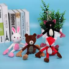 1PC <b>Cute</b> Yoga Piggy/<b>Rabbit</b>/<b>Fox</b>/Cat/<b>Bear</b> Plush Toy Soft Stuffed ...
