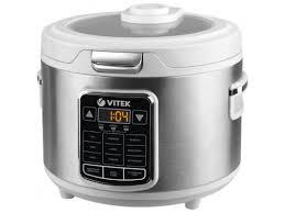 Купить <b>мультиварку Vitek VT-4281</b> W, серебристая/белая по цене ...