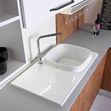 Кухонная <b>раковина</b> 1 чаша / из керамики / квадратная / с сушкой ...