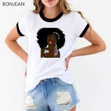 Melanin T Shirt femme Feminist <b>Melanin poppin</b> shirt <b>women</b> Hipster ...