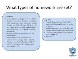 How is homework set and recorded  SlidePlayer