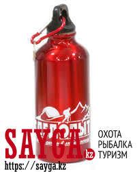 """<b>Бутылка</b> питьевая """"<b>Следопыт</b>"""" с карабином 400мл"""