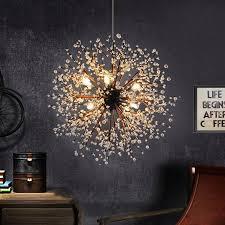 LukLoy Dandelion Fireworks <b>Modern Pendant Ceiling Lamps</b> Loft ...