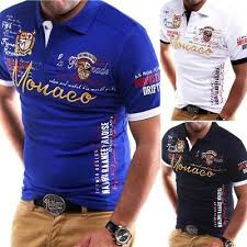 <b>Zogaa</b> brand <b>New Mens Polo</b> Shirt Slim Fit Short Sleeve Shirt <b>Polos</b> ...
