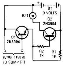 simple flood alarm circuit_circuit diagram world on simple door alarm schematic