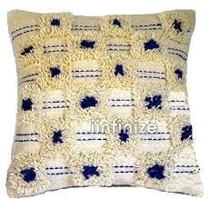 2 Pcs Wool Kilim Cushion Cover Handwoven Shaggy ... - Amazon.com