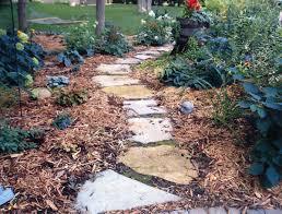 patio kits stoned pathways ideas