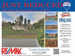 just reduced just listed flyer real estate team gurrola flyers just reduced just listed flyer real estate