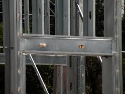 Light Gauge Metal Stud Framing  Credit Buildipedia  L