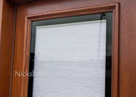 patio doors with blinds between the glass: shades between glass wood doors blinds