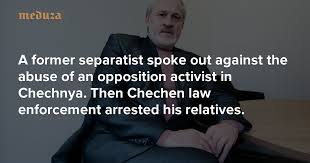 '<b>I am</b> the moderator' A former separatist spoke <b>out</b> against the abuse ...