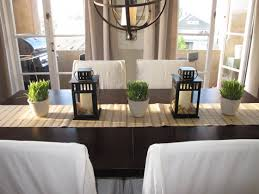 Table Centerpieces For Dining Room Decorating Ideas Chic Elegant Dining Room Design With Round