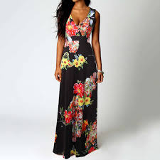 JAYCOSIN <b>2019 Summer</b> Dress <b>Women Boho</b> Maxi <b>Summer</b> Beach ...